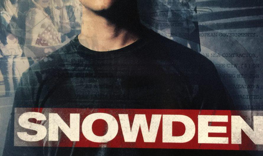 SNOWDEN 2016: อัจฉริยะจารกรรมเขย่ามหาอำนาจ ภาพยนตร์ระทึกขวัญ